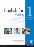 english for nursing level 1 coursebook and cd rom pack (vocationa l english) 9781408269930