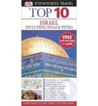 israel sinai and petra (top 10 eyewitness travel guide) 9781409326830