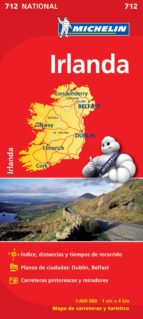 mapa irlanda 2012 (ref. 712) 9782067170230
