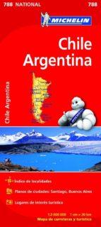 mapa national chile   argentina (2013) 9782067185630