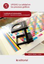 (i.b.d.)calidad en los procesos graficos. argi0310   impresion en serigrafia y tampografia 9788415730330