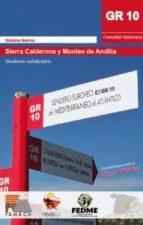 gr10 sierra calderona y montes de andilla s. salvador blanco 9788416130030