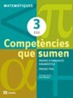 competències que sumen matemàtiques 3 eso ed 2013 cataluña/balear s 9788421853030