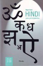 hindi para principiantes (contiene 2cd) rupert snell 9788425424830
