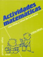 actividades matematicas con niños de 0 a 6 años-cristina lahora perez-9788427710030