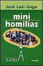 Libros de archivos pdf gratis para descargar gratis Mini homilias: ciclo a