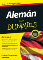 aleman para dummies-paulina christensen-anne fox-9788432921230