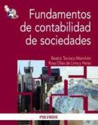 fundamentos de contabilidad de sociedades beatriz torvisco manchon rosa olias de lima heras 9788436824230