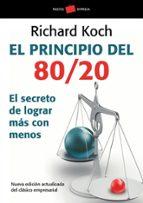 el principio del 80/20-richard koch-9788449322730