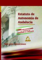 estatuto de autonomia de andalucia. test-9788466566230