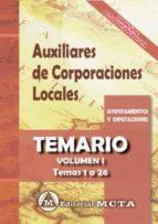auxiliares de corporaciones locales (vol. i): temario-manuel segura ruiz-9788482193830