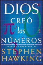 dios creo los numeros-stephen w. hawking-9788484327530