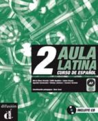 aula latina 2 (libro + cd audio) 9788484432630
