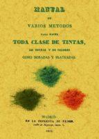 manual de varios metodos para hacer toda clase de tintas, asi neg ras y de colores como doradas y plateadas (ed. facsimil)-9788490011430