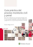 guia practica del proceso monitorio civil y penal 9788490205730