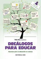 decálogos para educar (ebook)-pedro rio aparicio-9788490238530