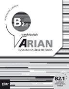 Descarga de libros reales en línea Arian b2.1 ikaslearen liburua