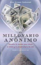el millonario anónimo alex arroyo carbonell 9788491110330