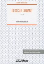 derecho romano (2ª ed.)-antonio fernandez de bujan-9788491973430
