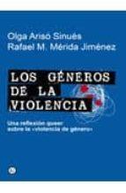 los generos de la violencia rafael m. merida jimenez olga ariso sinues 9788492813230