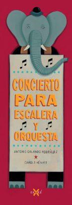 concierto para escalera y orquesta antonio orlando rodriguez 9788494124730