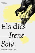 els dics (premi documenta 2017)-irene sola saez-9788494782930