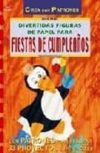 divertidas figuras de papel para fiestas de cumpleaños ernestine fittkau 9788495873330