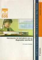 programa de refuerzo de la expresion escrita ii (2ª ed.) j.m. lorenzo hernandez 9788497270830