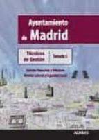 tecnicos de gestion ayuntamiento de madrid: temario 5-9788499439730