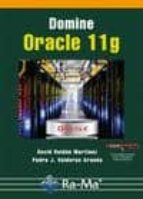 domine oracle 11g-david roldan martinez-9788499642130