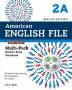 american english file 2e 2a multi pk-9780194776240