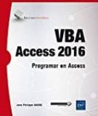 vba access 2016 jean philippe andre 9782409007040