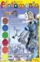 robots: rodney hojalata, de profesion inventor (pintamania acuare las)-9788408057840
