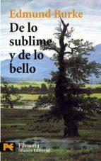 de lo sublime y de lo bello-edmund r. burke-9788420658940
