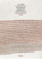 diccionario de construccion y regimen de la lengua castellana vols.-r.j. cuervo-9788425420740