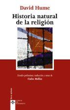 historia natural de la religion (3ª ed.) david hume 9788430946440