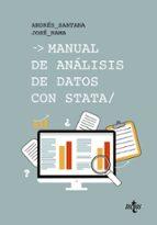 manual de análisis de datos con stata-andres santana-jose rama-9788430971640