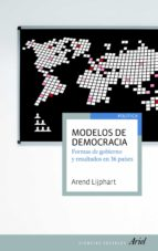 modelos de democracia arend lijphart 9788434405240
