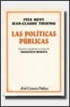 las politicas publicas-ives meny-jean-claude thoenig-9788434416840
