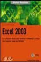 microsoft office excel 2003 (manual avanzado) (incluye cd-rom)-francisco charte ojeda-9788441516540