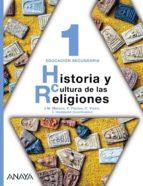 El libro de Historia y cultura de las religiones 1. autor VV.AA. EPUB!