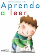 aprendo a leer. educación primaria - primer ciclo-9788466797740