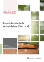 FORMULARIOS DE LA ADMINISTRACIÓN LOCAL de SATURIO HERNANDEZ DE MARCO