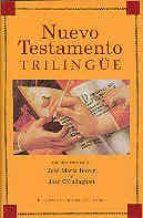 nuevo testamento trilingüe (5ª ed.) 9788479141240