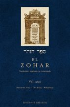 zohar xxiii-shimon bar (rabi) loajai-9788491112440