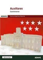 cuestionarios auxiliares administrativos de la comunidad de madrid-9788491473640
