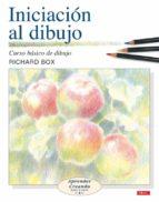 iniciacion al dibujo: curso basico de dibujo richard box 9788496365940