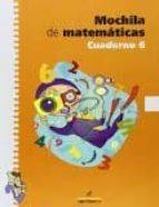 mochila matemáticas 6 educacion primaria-9788498450040