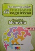 estimulacion de las funciones cognitiva. cuadernos memoria 5 9788499158440