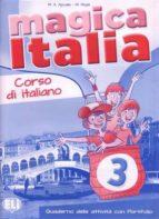 magica italia 3   cuaderno 9788853614940